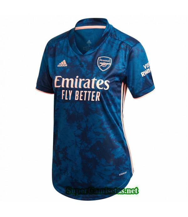 Tailandia Tercera Equipacion Camiseta Arsenal Femme 2020/21