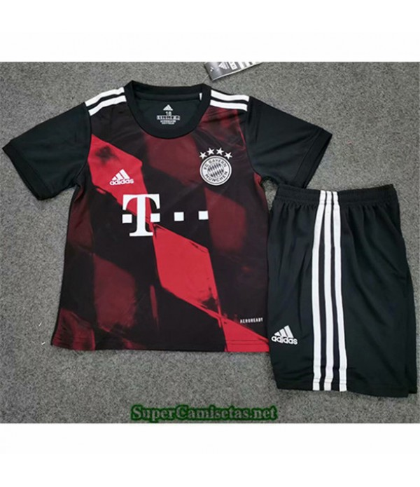 Tailandia Tercera Equipacion Camiseta Bayern Munich Niños 2020/21