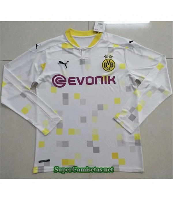 Tailandia Tercera Equipacion Camiseta Borussia Dortmund Manga Larga 2020/21