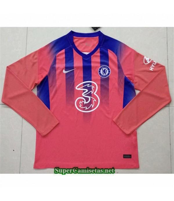 Tailandia Tercera Equipacion Camiseta Chelsea Mang...