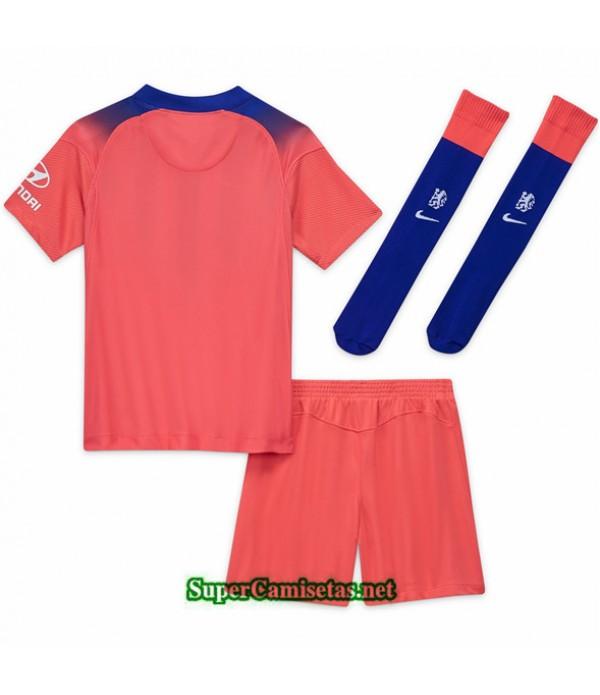 Tailandia Tercera Equipacion Camiseta Chelsea Niños 2020/21