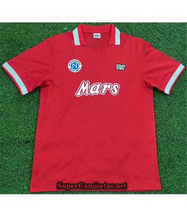 Tailandia Tercera Equipacion Camiseta Clasicas Nápoles Hombre 1988 89