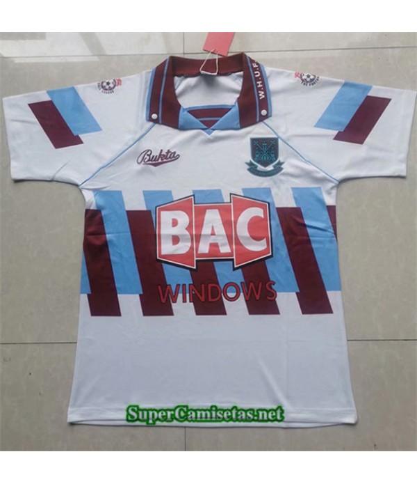 Tailandia Tercera Equipacion Camiseta Clasicas West Ham United Hombre 1996 97