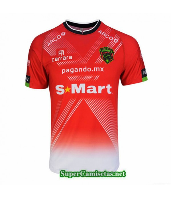 Tailandia Tercera Equipacion Camiseta Fc Juarez Rojo 2020/21