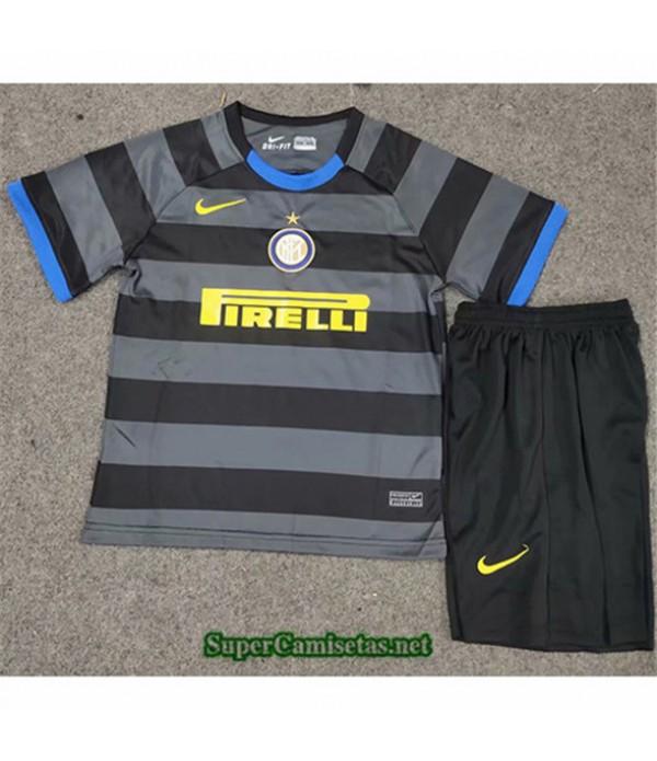 Tailandia Tercera Equipacion Camiseta Inter Milan Niños 2020/21