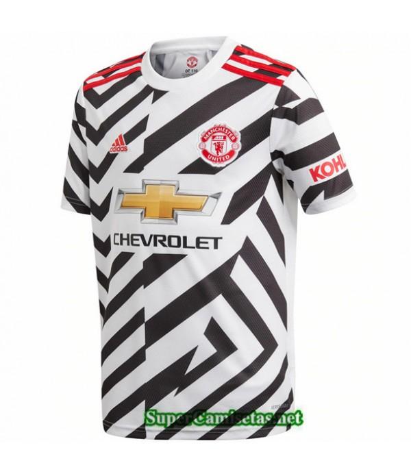 Tailandia Tercera Equipacion Camiseta Manchester United 2020/21