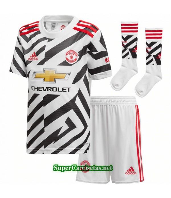 Tailandia Tercera Equipacion Camiseta Manchester United Niños 2020/21