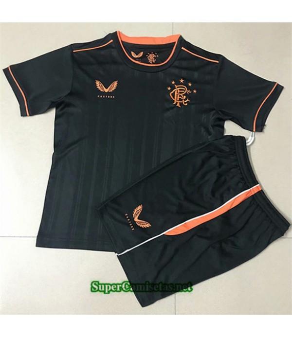Tailandia Tercera Equipacion Camiseta Rangers Enfant 2020/21