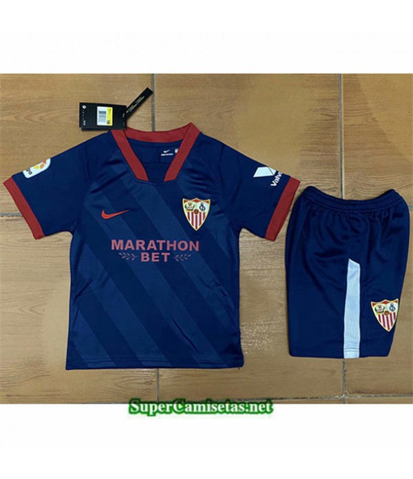 Tailandia Tercera Equipacion Camiseta Sevilla Niños 2020/21