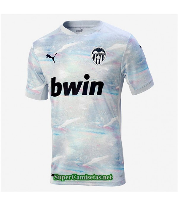 Tailandia Tercera Equipacion Camiseta Valencia Cf 2020/21