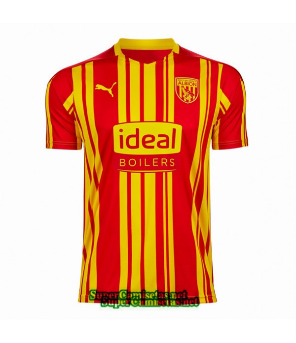 Tailandia Tercera Equipacion Camiseta West Bromwich Albion 2020/21