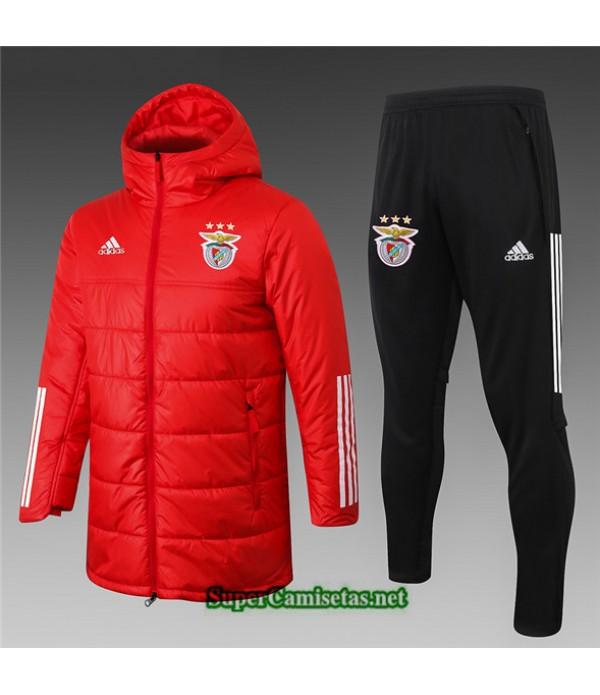 Tailandia Abrigo Acolchado Largo Benfica Rojo 2020/21