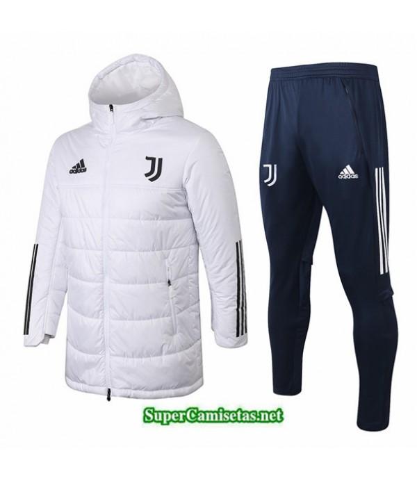 Tailandia Abrigo Acolchado Largo Juventus Blanco 2020/21