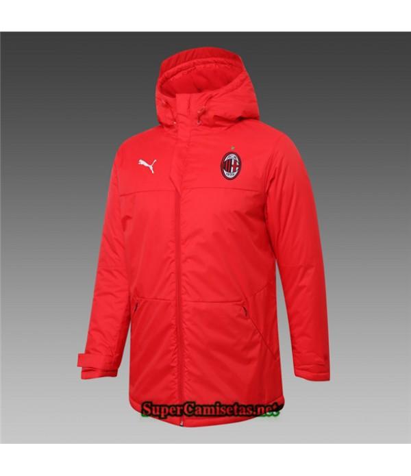 Tailandia Camiseta Ac Milan Chaqueta Doudoune Rojo 2020/21
