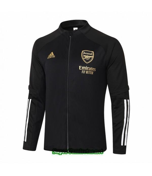 Tailandia Camiseta Arsenal Chaqueta Negro 2020/21