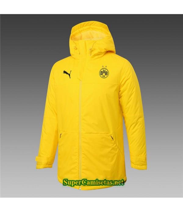 Tailandia Camiseta Borussia Dortmund Chaqueta Doudoune Amarillo 2020/21