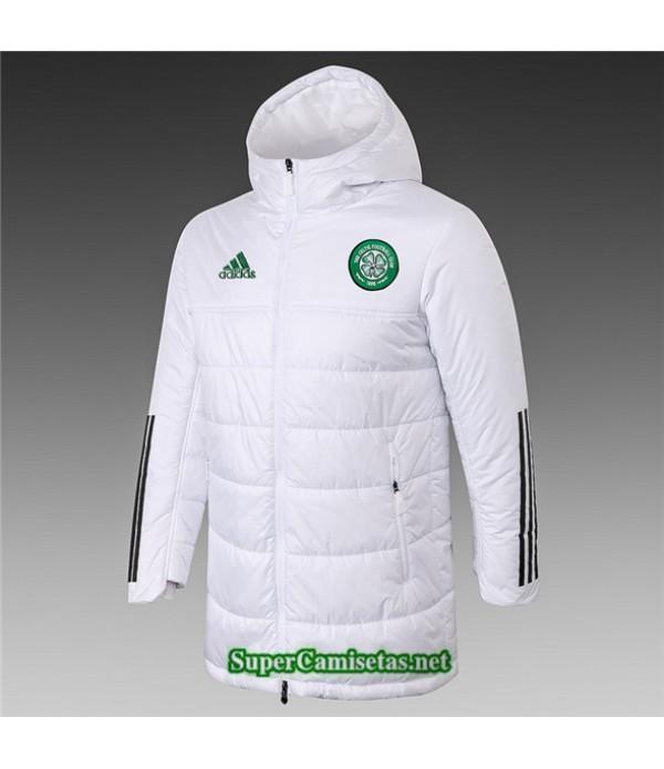 Tailandia Camiseta Celtic Chaqueta Doudoune Blanco 2020/21