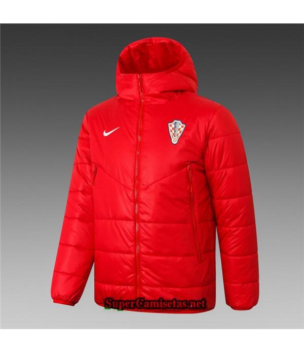 Tailandia Camiseta Croacia Chaqueta Doudoune Rojo 2020/21