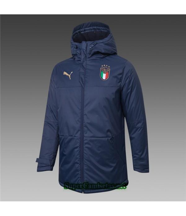 Tailandia Camiseta Italia Chaqueta Doudoune Azul Profundo 2020/21