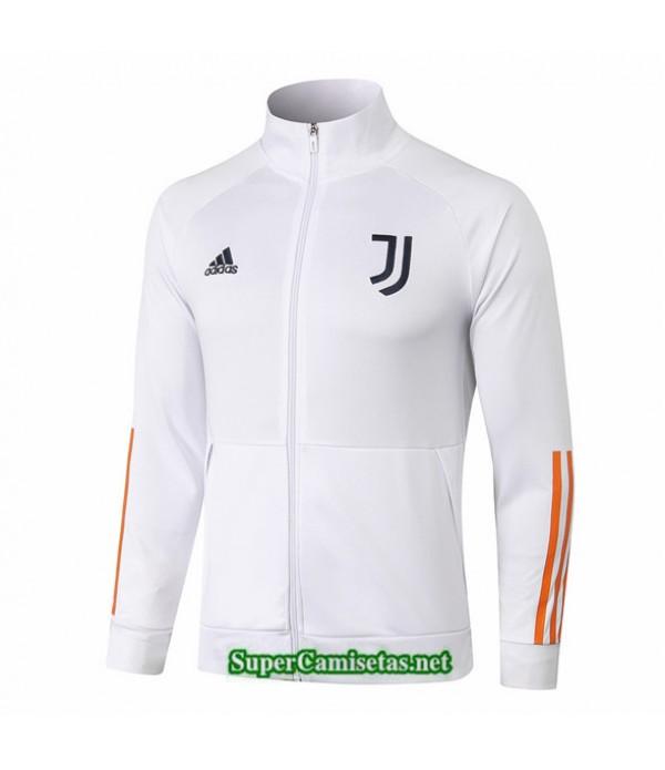 Tailandia Camiseta Juventus Chaqueta Blanco 2020/21 Cuello Alto