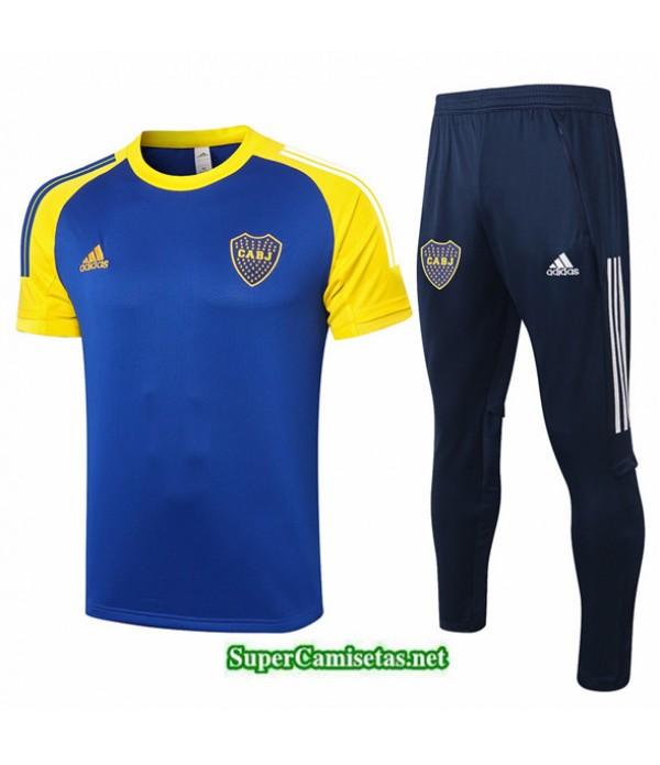 Tailandia Camiseta Kit De Entrenamiento Boca Juniors Azul Profundo/amarillo 2020/21