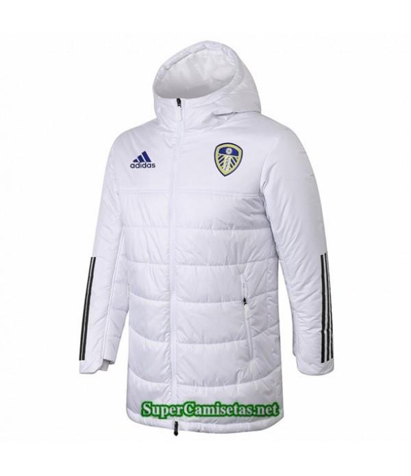 Tailandia Camiseta Leeds United Survetement Blanco 2020/21