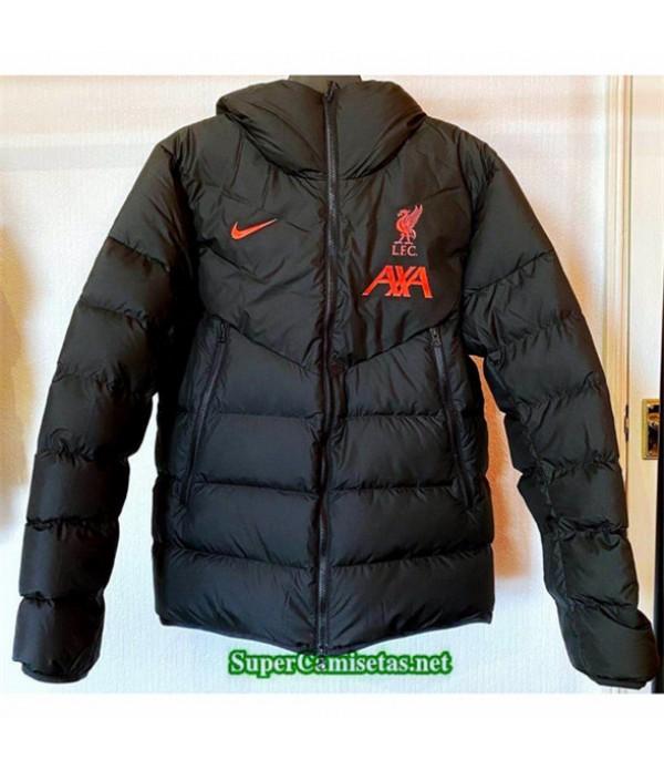 Tailandia Camiseta Liverpool Chaqueta Doudoune Negro 2020/21