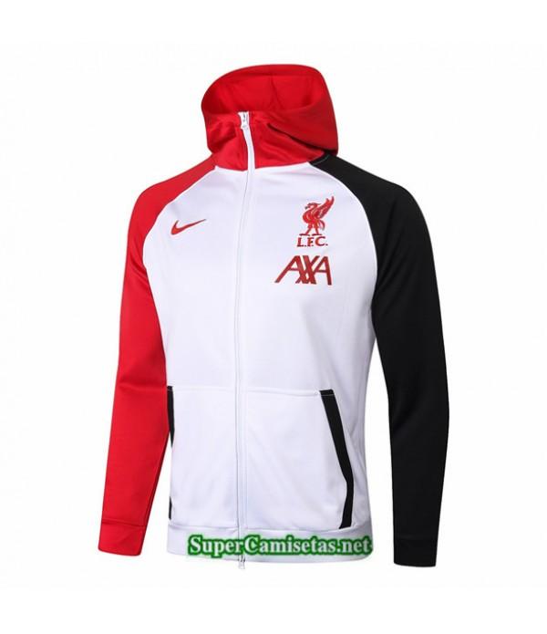 Tailandia Camiseta Liverpool Chaqueta Sombrero Blanco 2020/21