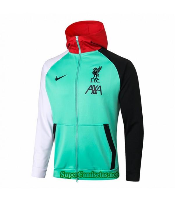 Tailandia Camiseta Liverpool Chaqueta Sombrero Verde 2020/21
