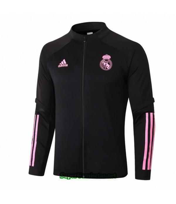 Tailandia Camiseta Real Madrid Chaqueta Negro/rojo 2020/21