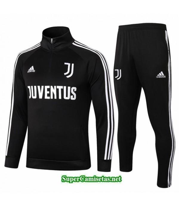 Tailandia Chandal Juventus Negro 2020/21