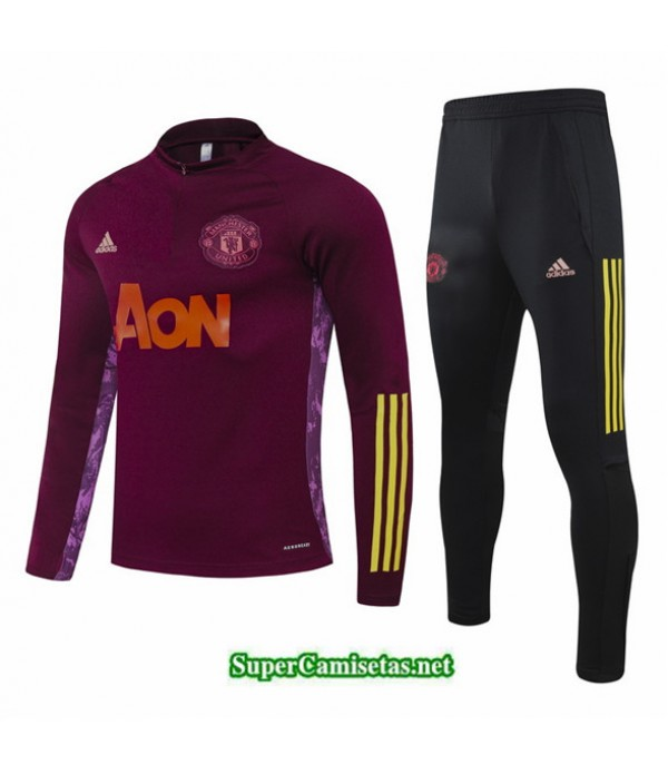 Tailandia Chandal Manchester United Jujube Rojo Champions League 2020/21