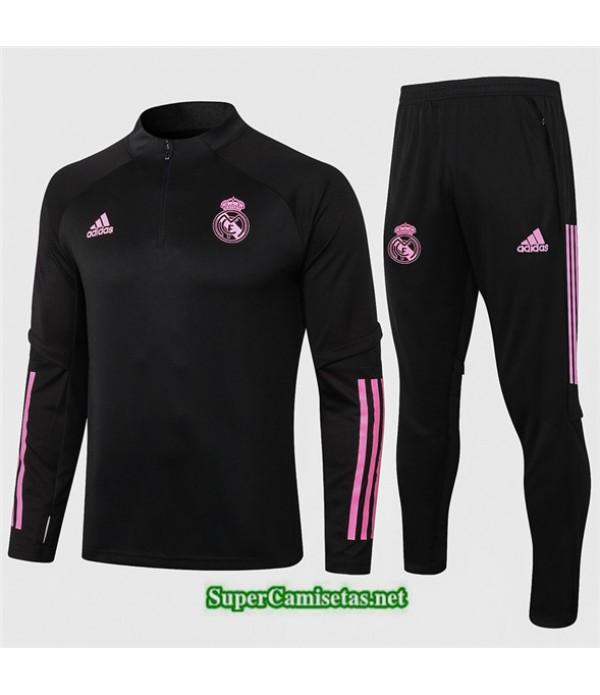 Tailandia Chandal Real Madrid Negro 2020/21