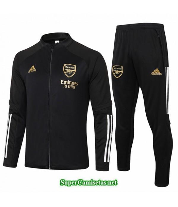 Tailandia Chaqueta Chandal Arsenal Negro 2020/21