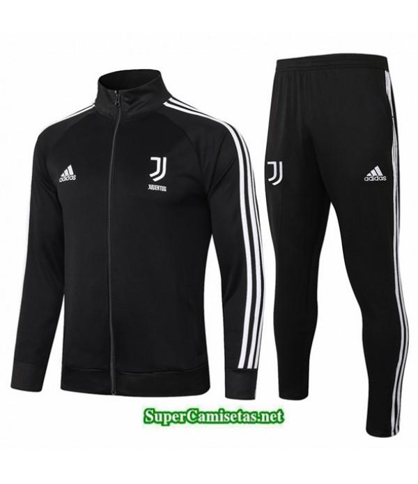 Tailandia Chaqueta Chandal Juventus Negro/blanco 2020/21