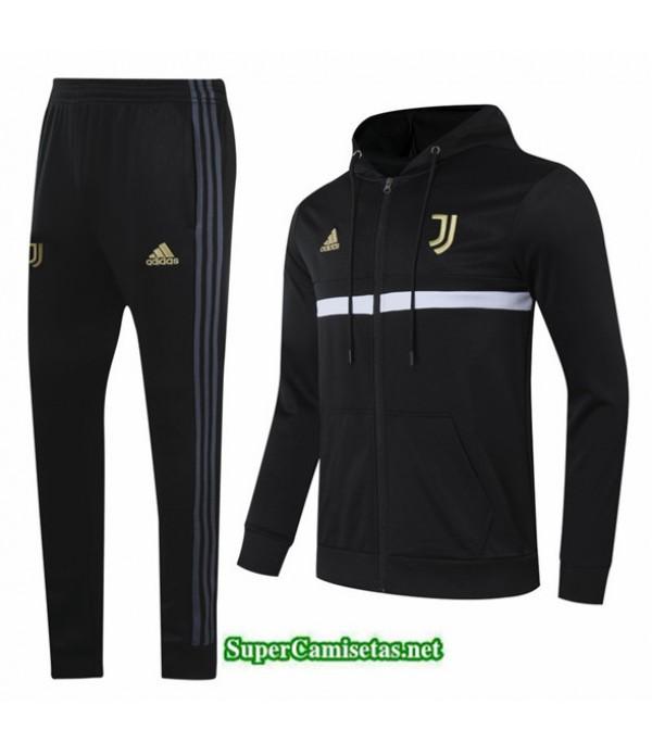 Tailandia Chaqueta Chandal Juventus Sombrero Negro 2020/21