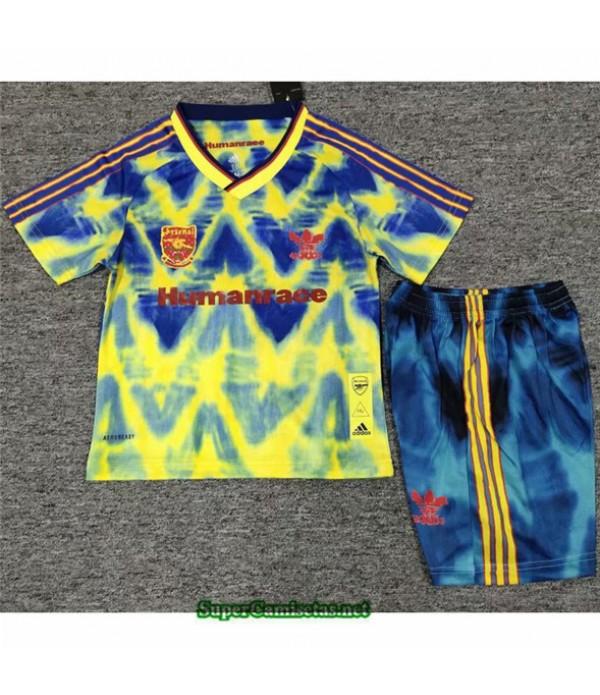 Tailandia Equipacion Camiseta Arsenal Niño édition Conjointe 2020/21