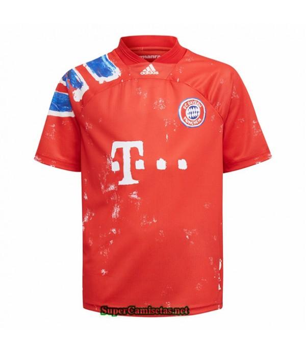 Tailandia Equipacion Camiseta Bayern Munich Edici�...