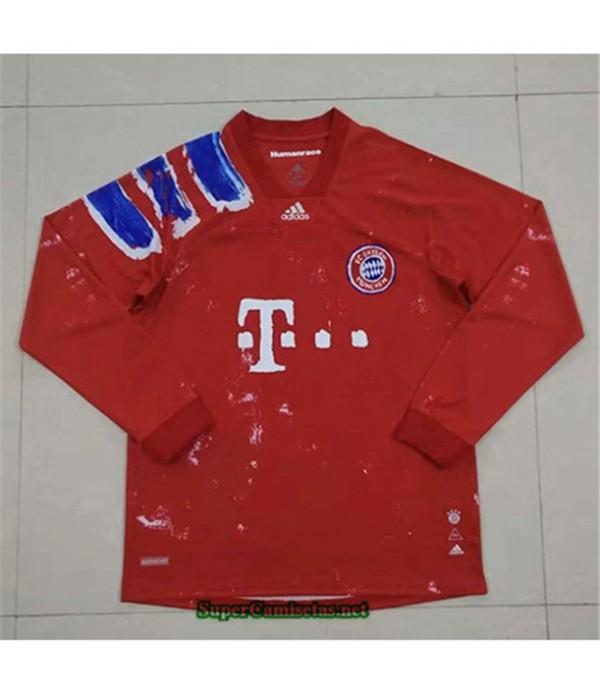 Tailandia Equipacion Camiseta Bayern Munich Manga ...