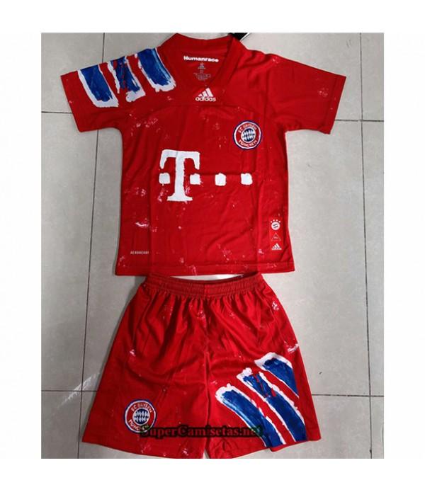Tailandia Equipacion Camiseta Bayern Munich Niño édition Conjointe 2020/21
