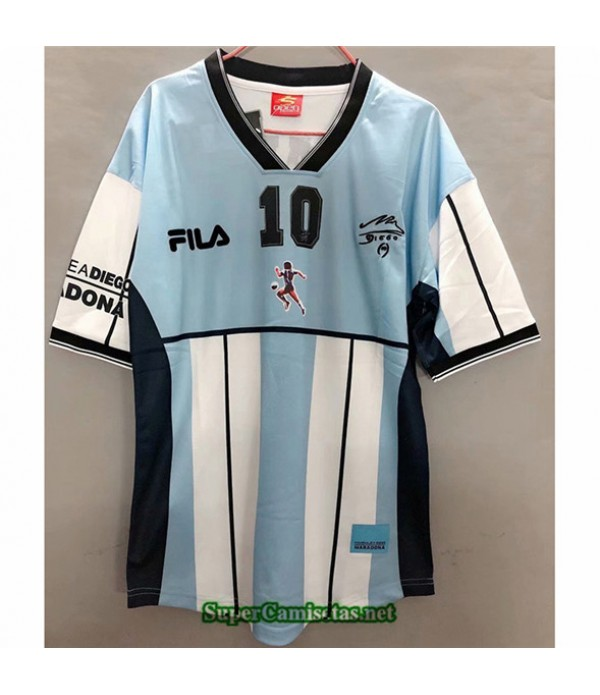 Tailandia Equipacion Camiseta Clasicas Maradona Memorial Hombre 2001