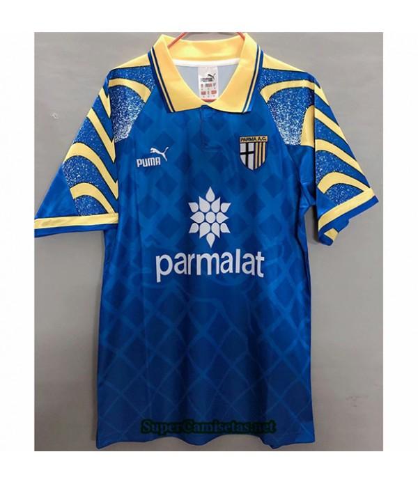 Tailandia Equipacion Camiseta Clasicas Parma Calcio Hombre Bleu 1995 97