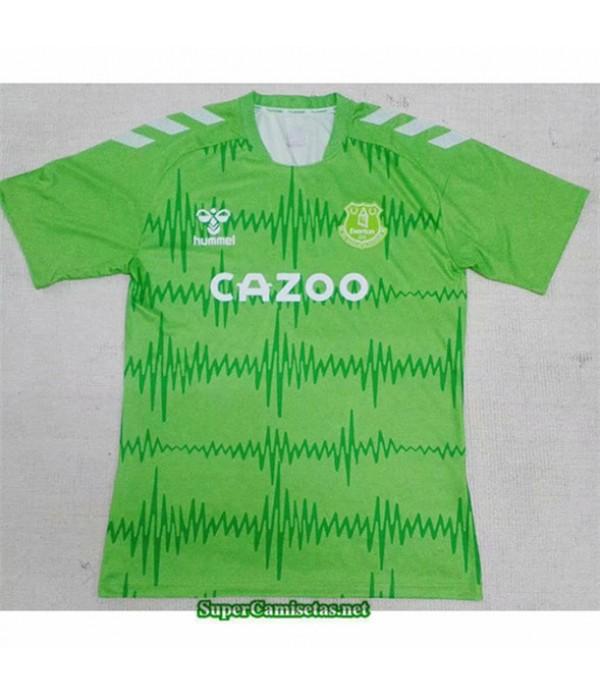 Tailandia Equipacion Camiseta Everton Verde 2020/21