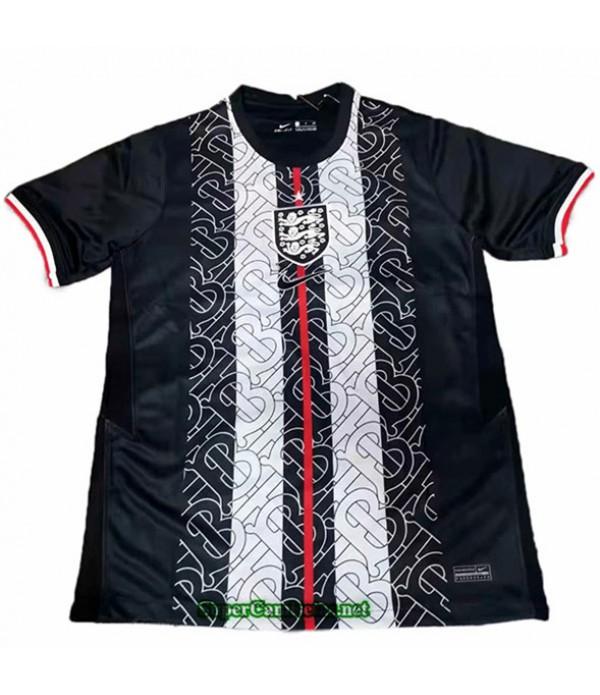 Tailandia Equipacion Camiseta Inglaterra Negro 2020/21