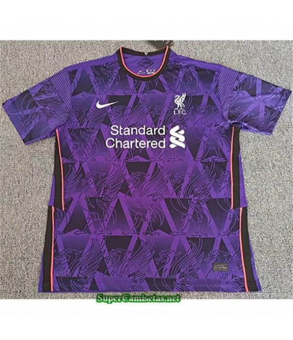 Tailandia Equipacion Camiseta Liverpool Edición E...
