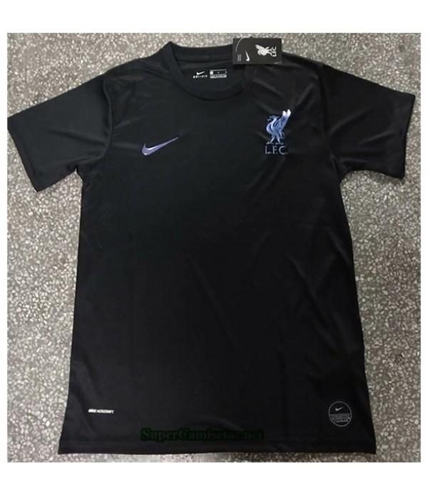 Tailandia Equipacion Camiseta Liverpool Negro 2020...