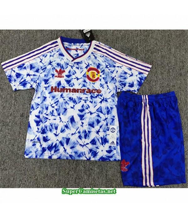 Tailandia Equipacion Camiseta Manchester United Niño édition Conjointe 2020/21