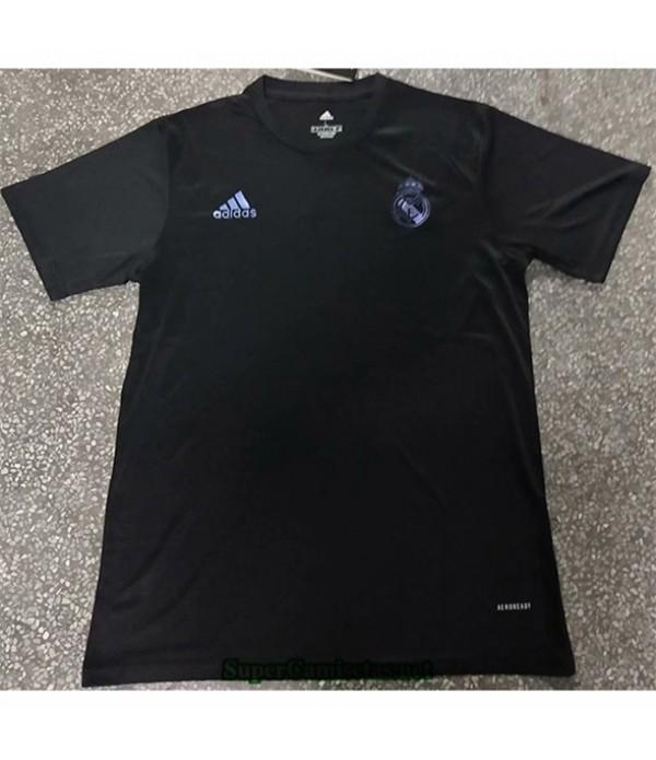 Tailandia Equipacion Camiseta Real Madrid Negro 20...