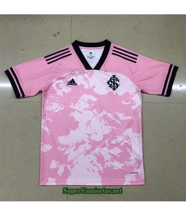 Tailandia Equipacion Camiseta Sc Internacional Edición Especial Rosa 2020/21