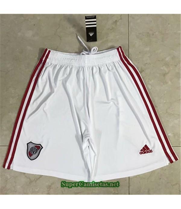 Tailandia Pantalones Primera Equipacion Camiseta River Plate 2020/21